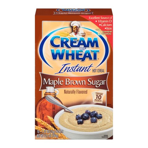 Cream of Wheat®: Maple Brown Sugar Hot Cereal (10pk)