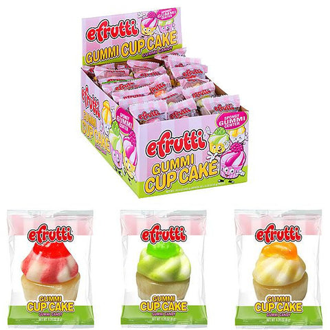 E-Frutti Gummi Cupcake 0.28oz (8g) - A Taste of the States
