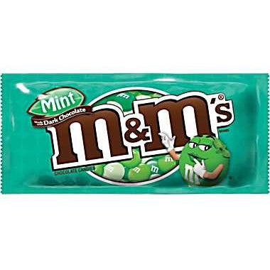 M&M's Dark Mint 1.5oz - A Taste of the States
