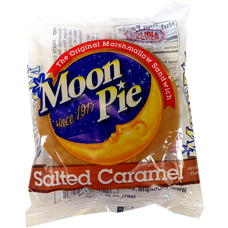 Salted Caramel Moon Pie (78g) - A Taste of the States