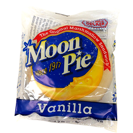 Vanilla Moon Pie (78g) - A Taste of the States