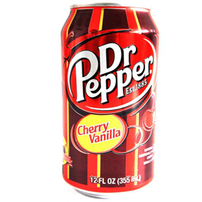 Dr Pepper Cherry Vanilla (12fl.oz) - A Taste of the States