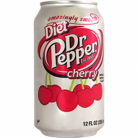 Dr Pepper Diet Cherry (USA) 12fl.oz - A Taste of the States