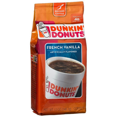 Dunkin' Donuts French Vanilla Ground Coffee (12oz) - A Taste of the States