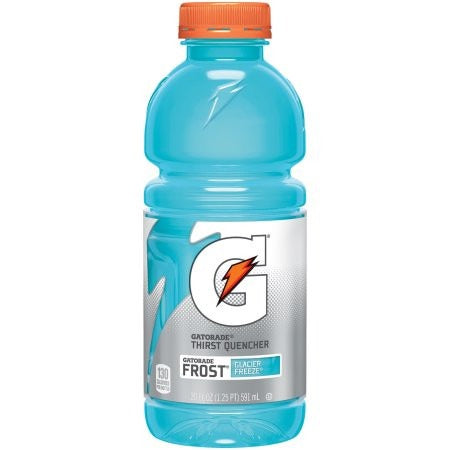 Gatorade Glacier Freeze 20oz (591ml) - A Taste of the States