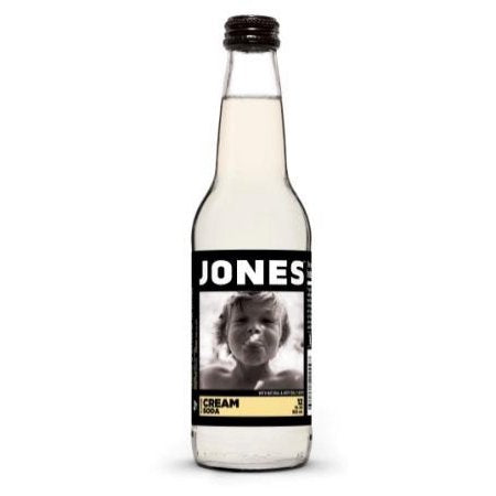 Jones Cream Soda (12fl.oz) - A Taste of the States