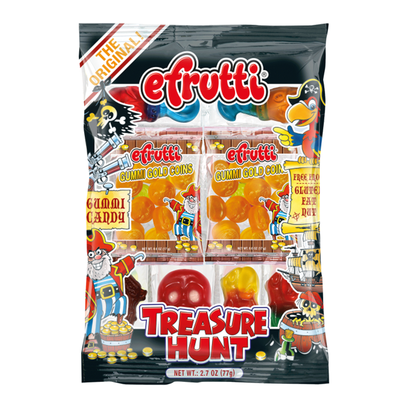 E-Frutti Gummi Treasure Hunt Tray (2.7oz)