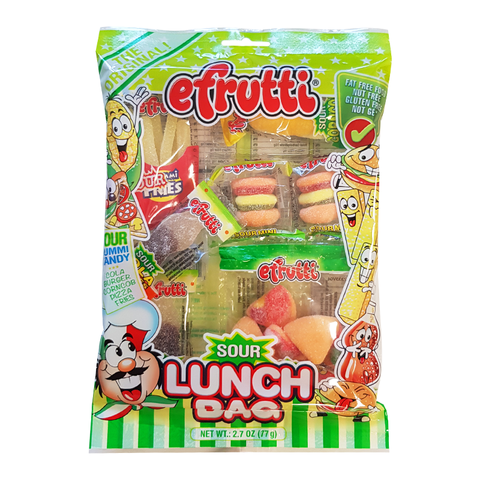 E-Frutti Gummi Sour Lunch Bag (2.7oz)