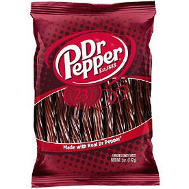 "Dr Pepper 5"" Juicy Twists 5 OZ (142g) - A Taste of the States"