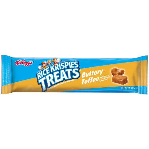 Rice Krispies Treats Cereal Bar Buttery Toffee (3oz)