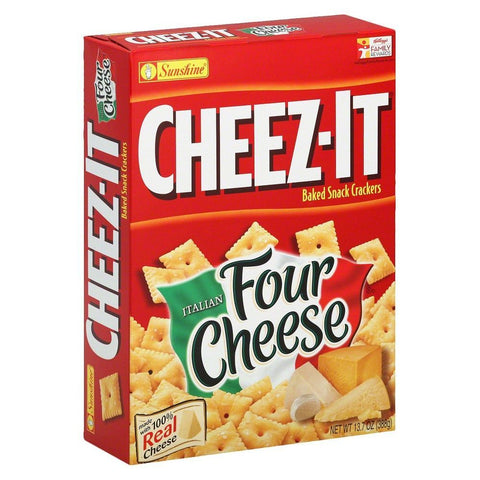 Cheez-It Italian Four Cheese (12.4oz Box)