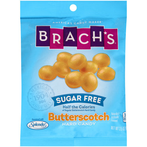 Brach's Sugar Free Butterscotch Candy 3.5oz (99g) - A Taste of the States