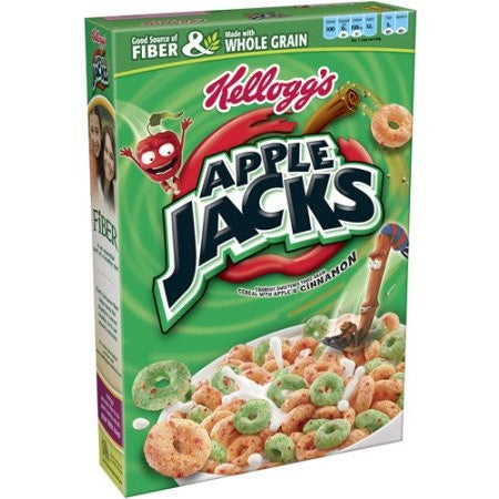 Kellogg's Apple Jacks Cereal 17oz (481g) - A Taste of the States