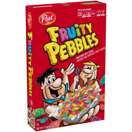 Fruity Pebbles Cereal (11oz) 311g - A Taste of the States