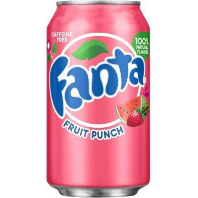 Fanta Fruit Punch (12fl.oz) - A Taste of the States