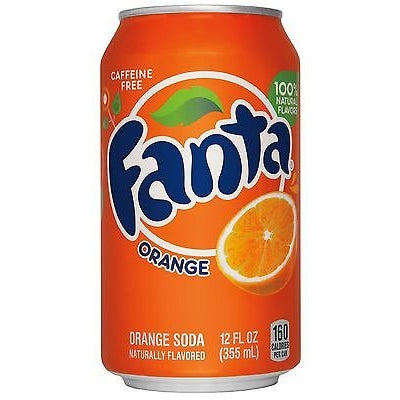 Fanta Orange (American) (12fl.oz) - A Taste of the States