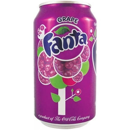 Fanta Grape (12fl.oz) - A Taste of the States