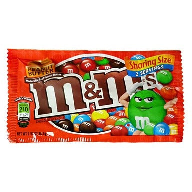 M&M's Peanut Butter Sharing Size (2.8oz) - A Taste of the States