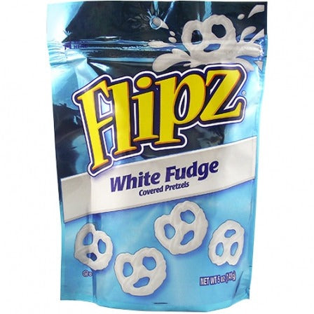 Flipz (White Fudge Covered Pretzels) 5oz - A Taste of the States