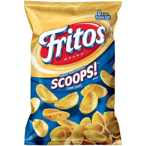 Fritos Corn Chips Scoops 11oz (311g) - A Taste of the States