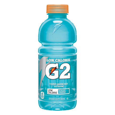 Gatorade G2 Low Calorie Glacier Freeze 20oz (591ml) - A Taste of the States
