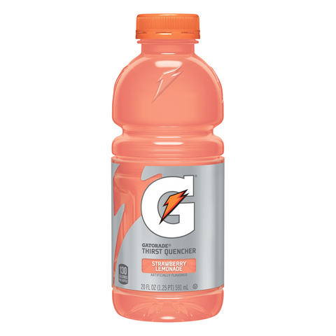 Gatorade Strawberry Lemonade 20oz (591ml) - A Taste of the States