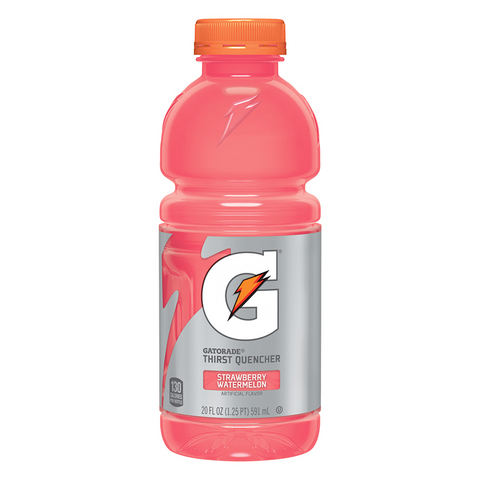 Gatorade Strawberry Watermelon 20oz (591ml) - A Taste of the States