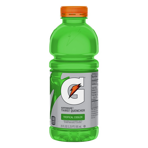 Gatorade Tropical Cooler 20oz (591ml) - A Taste of the States
