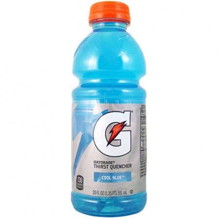 Gatorade Cool Blue 20oz (591ml) - A Taste of the States