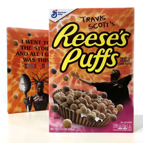 Reese's Puffs x Travis Scott Limited Edition Cereal (326g) - A Taste of the States