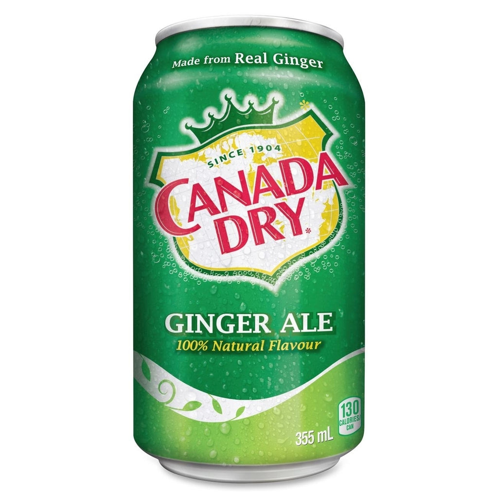 Canada Dry Ginger Ale (12fl.oz) - A Taste of the States