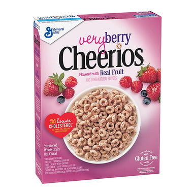 Cheerios Very Berry Cereal (10.9oz) - A Taste of the States