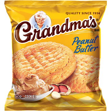 Frito-Lay Grandma's Cookies Peanut Butter 2.5oz - A Taste of the States