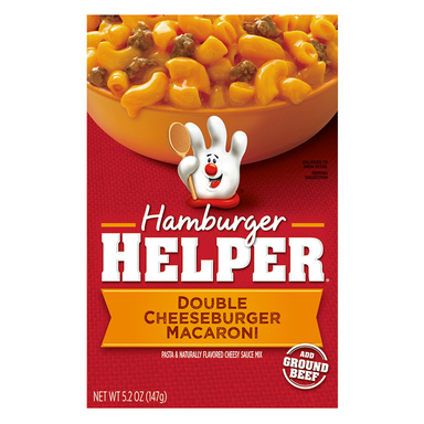 Hamburger Helper: Double Cheeseburger Macaroni (6oz) - A Taste of the States