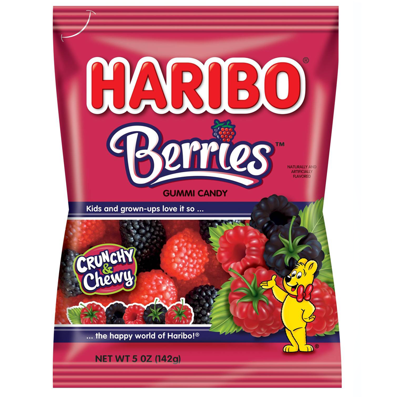 Haribo USA Berries (5oz) - A Taste of the States