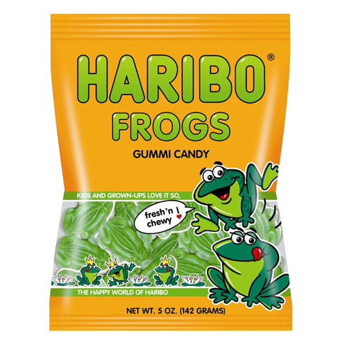 Haribo USA Frogs (4oz) - A Taste of the States