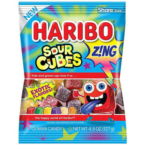 Haribo USA Sour Cubes (4oz)