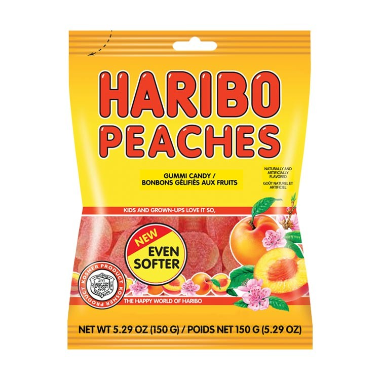 Haribo USA Peaches (4oz) - A Taste of the States