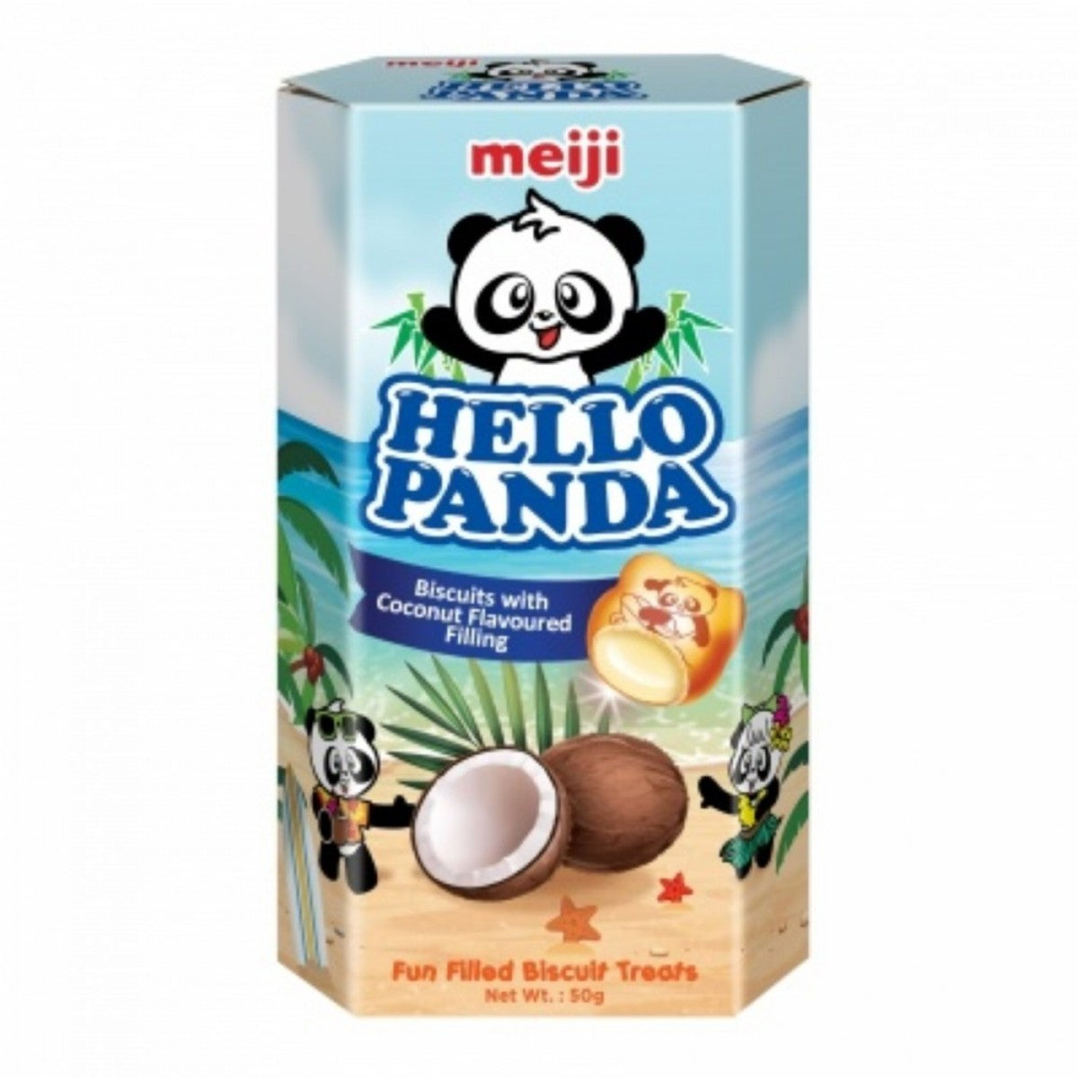 Meiji Coconut Hello Panda (50g) - A Taste of the States