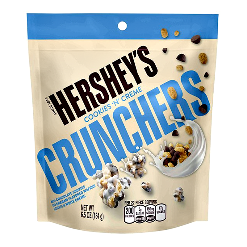Hershey's Cookies 'n' Creme Crunchers (6.5oz) - A Taste of the States