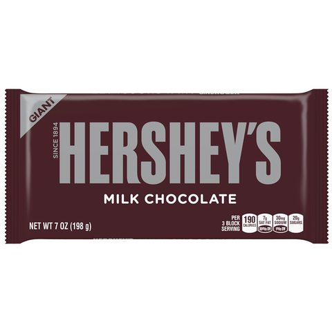 Hershey's Giant Bar: Milk Chocolate (7oz)