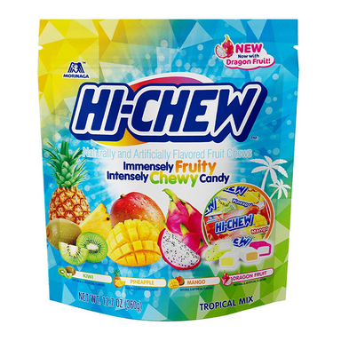 Hi-Chew Tropical Mix XL Stand-Up Pouch (12.7oz) - A Taste of the States