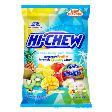 Hi-Chew Tropical Mix Peg Bag (3.5oz) - A Taste of the States