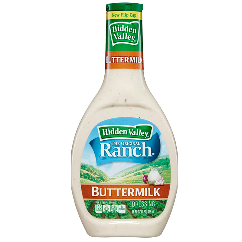 Hidden Valley Buttermilk Ranch Dressing (16oz bottle)
