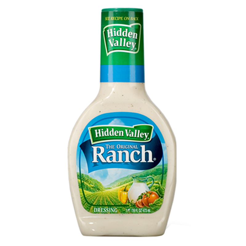 Hidden Valley Original Ranch Dressing (16oz bottle) - A Taste of the States