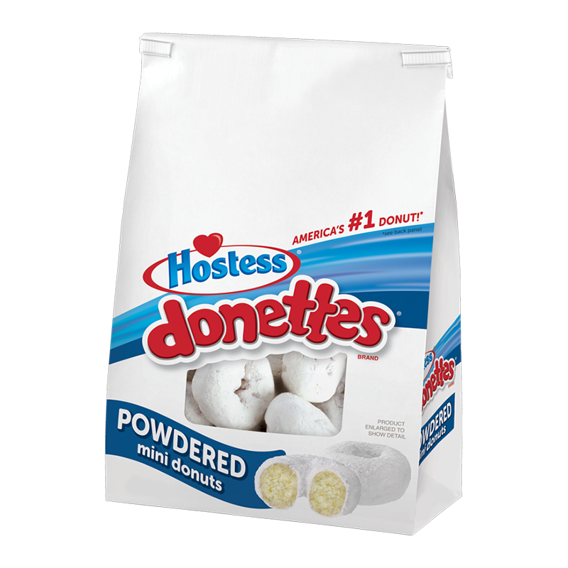 Hostess Powdered Donettes (10.5oz bag) - A Taste of the States