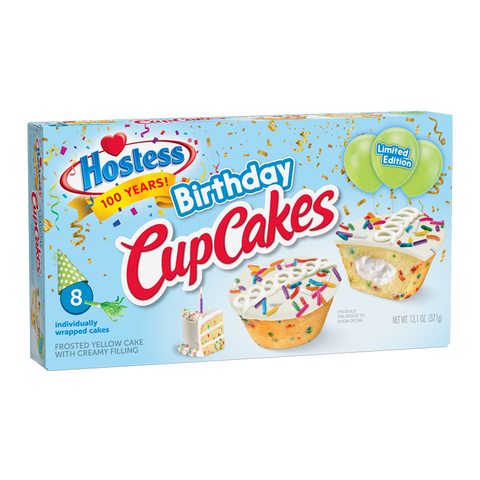 Hostess Birthday Cupcakes: Limited Edition (13.1oz)