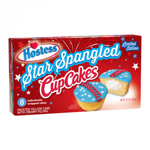 Hostess Cupcakes: Star Spangled Limited Edition (8ct)