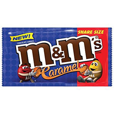 M&M's Caramel Share Size 2.83oz (80g) - A Taste of the States