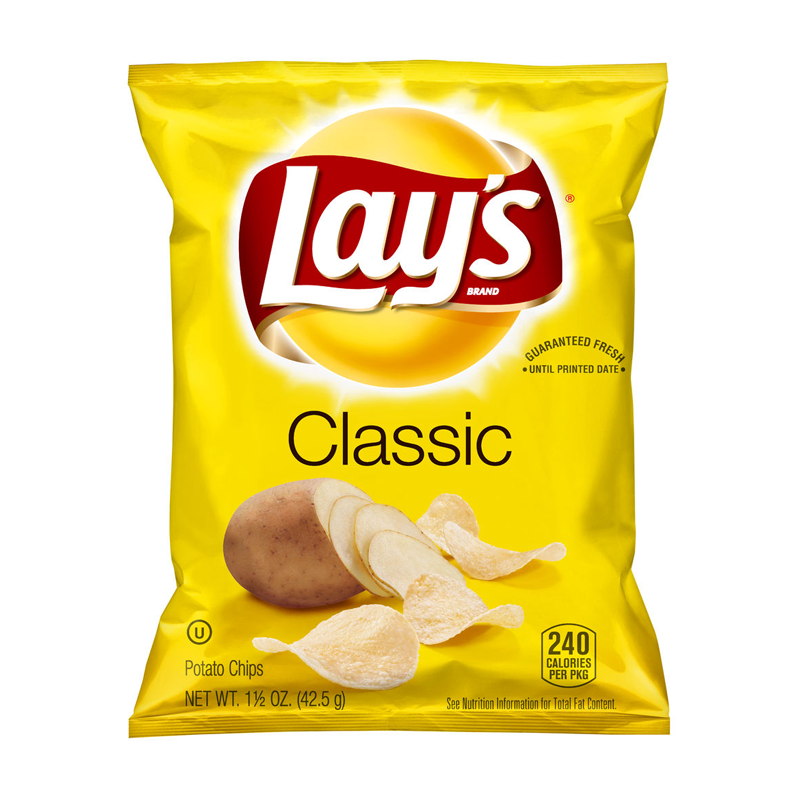 (BB 09/18) Lay's Classic Original Potato Chips (1.5oz) - A Taste of the States